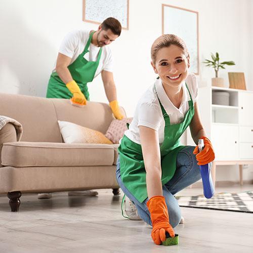 Быстрый способ убрать квартиру после ремонта